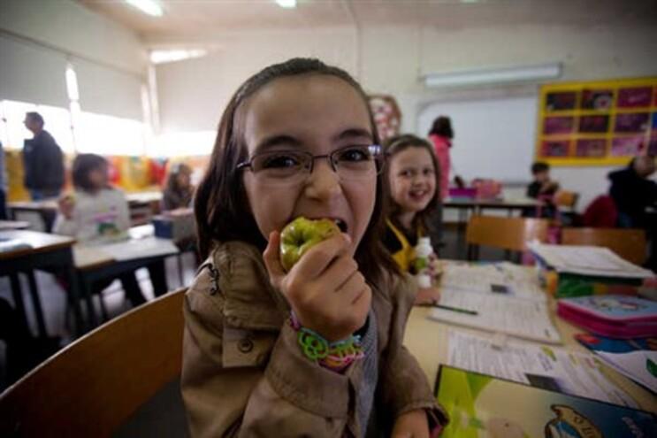 Entrega de fruta nas escolas de Matosinhos para implementar alimentação saudável