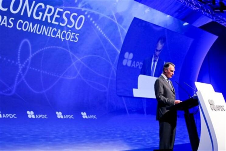 Cavaco Silva na abertura do 22º Congresso das Comunicações