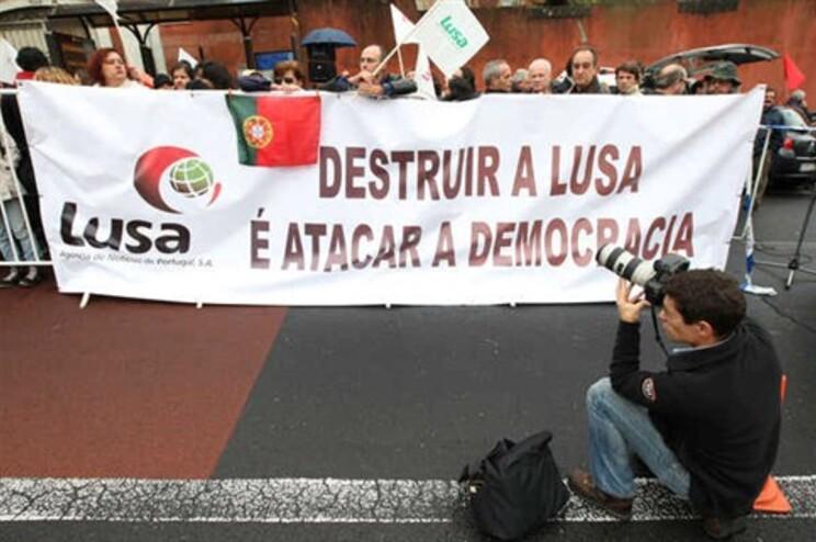 Trabalhadores da Lusa cumpriram uma greve de quatro dias, em outubro