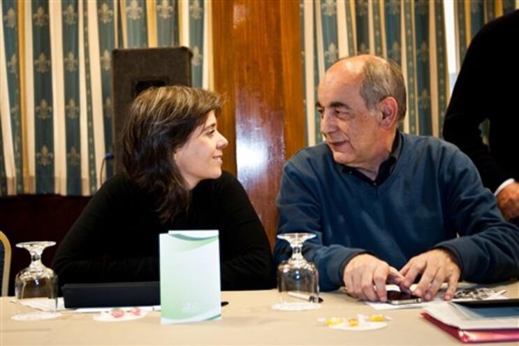 Os coordenadores do BE Catarina Martins e João Semedo