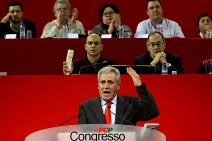 Jerónimo de Sousa no XIX congresso do PCP