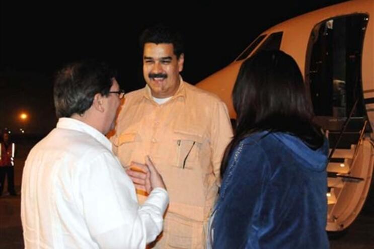 Informação foi prestada pelo vice-presidente da Venezuela Nicolas Maduro