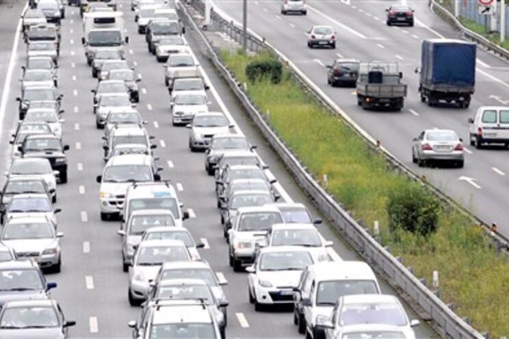 Trânsito aumentou na VCI do Porto