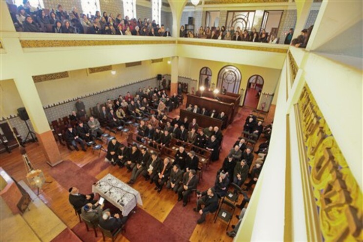 Segurança marcou festa dos 75 anos da sinagoga do Porto