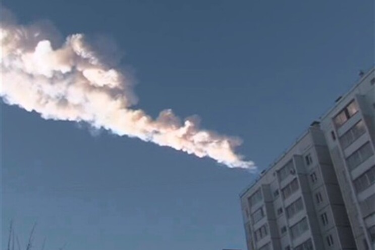 Meteorito atingiu zonas residenciais da região de Tcheliabinsk