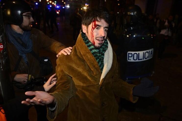 Pelo menos 12 detidos nos protestos deste sábado em Madrid