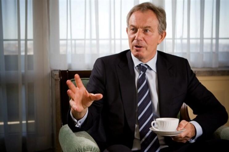 O antigo primeiro-ministro britânico, Tony Blair