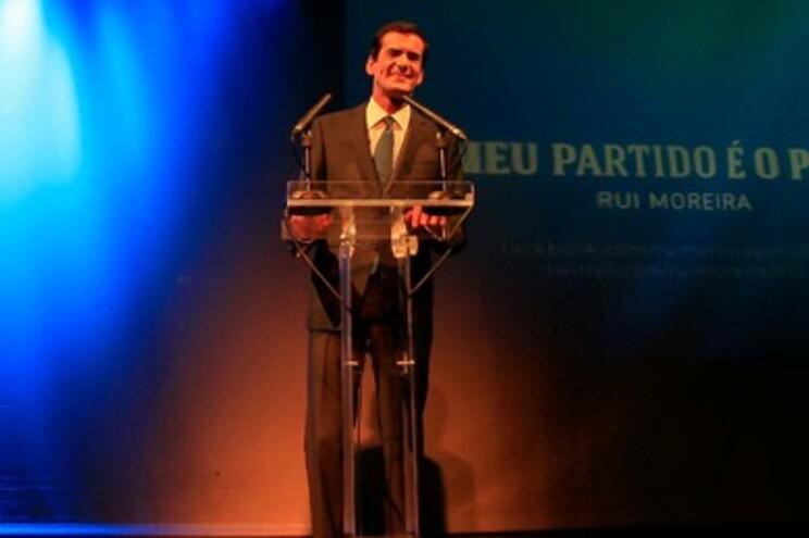 Empresário Rui Moreira apresentou a sua candidatura à Câmara do Porto