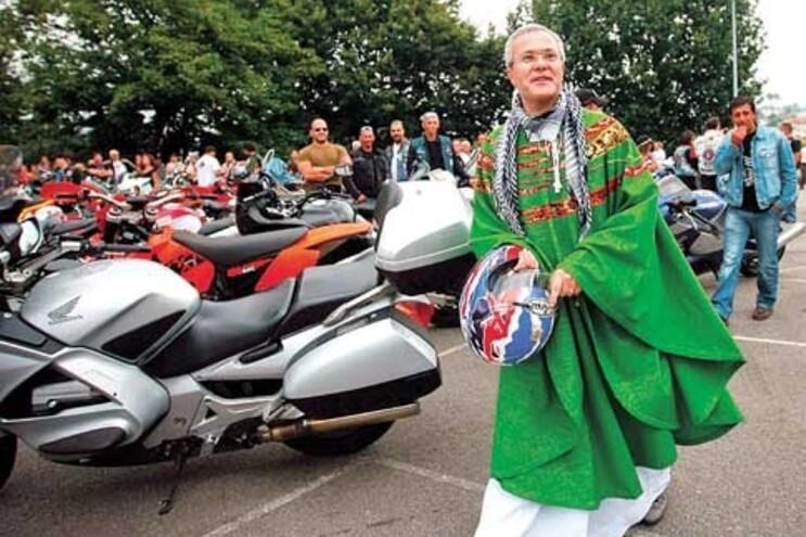 Padre José Fernando conciliava o sacerdócio com a paixão das motas