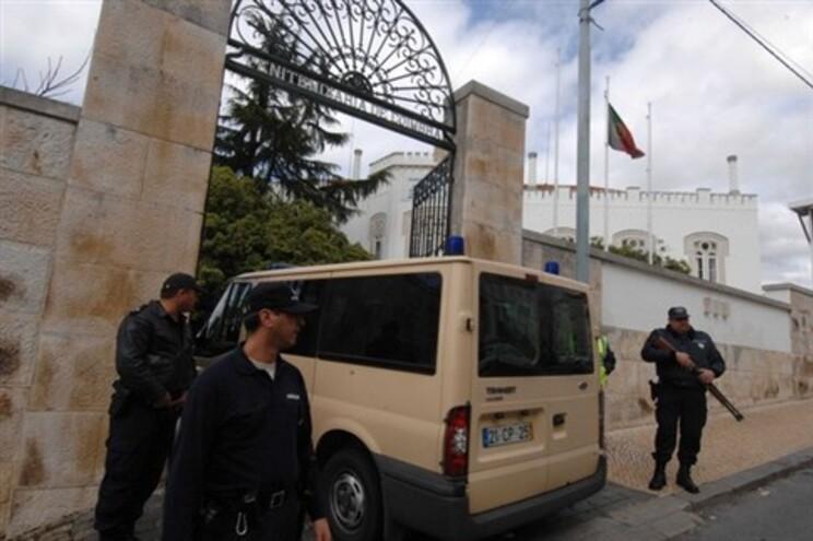 Entrada da cadeia de Coimbra