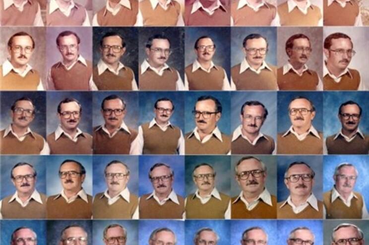 Professor usou a mesma roupa durante 40 anos