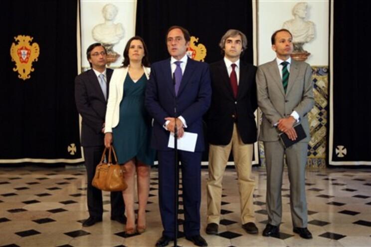 Nuno Magalhães, Assunção Cristas, Paulo Portas, Nuno Melo ePedro Mota Soares