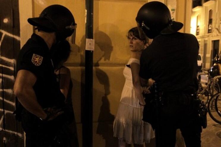 Quatro manifestantes foram detidos em Valência