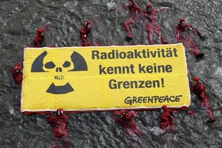 Protesto antinuclear na Alemanha