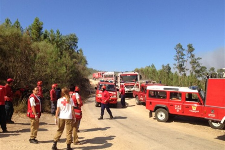 Uma bombeira morreu e seis ficaram feridos no Caramulo