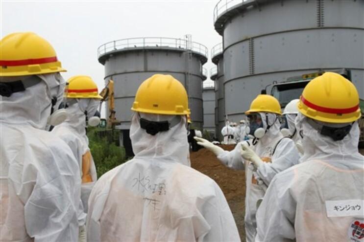 Suspeita de fuga radioativa em Fukushima