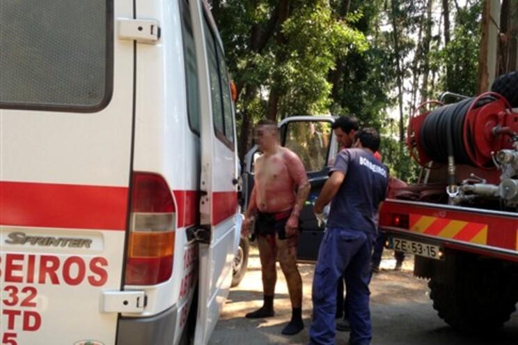 Uma bombeira morta, dois feridos graves e cinco ligeiros no incêndio do Caramulo