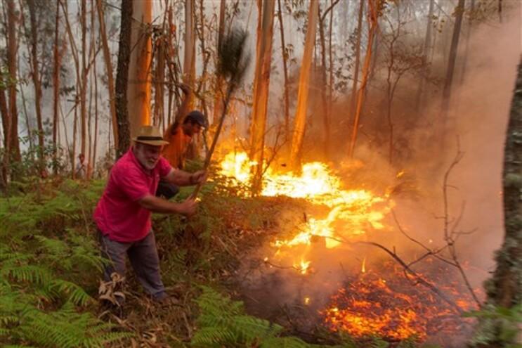70 incêndios registados até às 8 horas