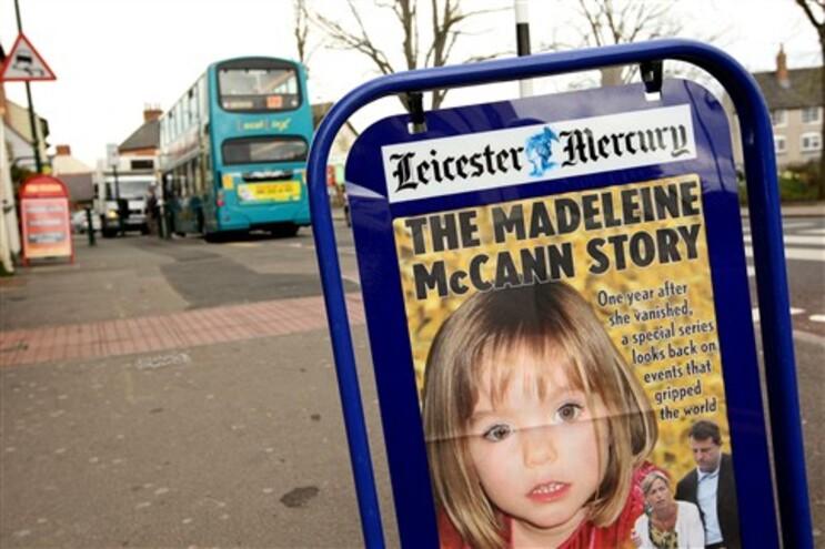 Polícia inglesa acredita estar mais perto de saber o que sucedeu a Madie