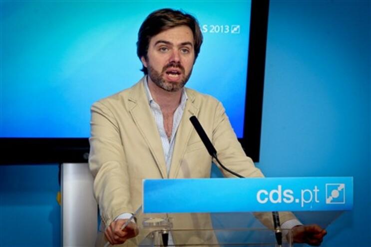 João Almeida, porta-voz do CDS/PP