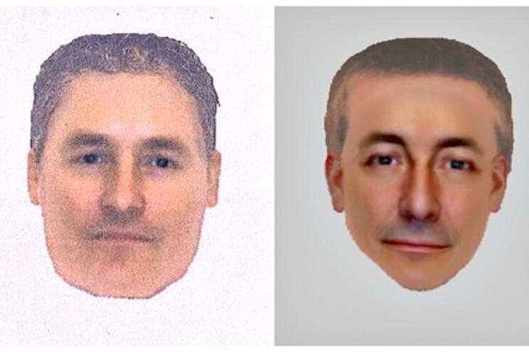 Policia divulgou retratos robô para identificar homem relacionado com caso Maddie