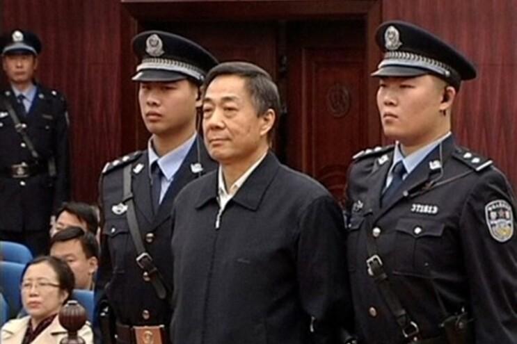 Bo Xilai foi condenado por corrupção, fraude e abuso de poder