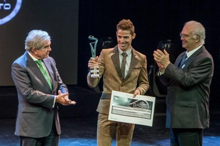 Rui Costa foi eleito atleta do ano pela segunda vez consecutiva