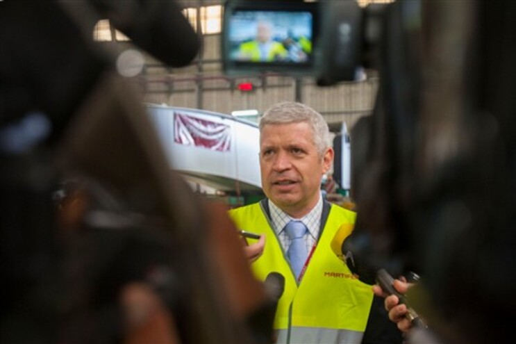 Carlos Martins, presidente da Martifer