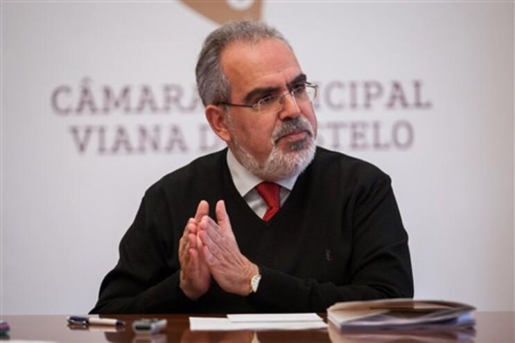 O Presidente da Camara de Viana do Castelo, José Maria Costa