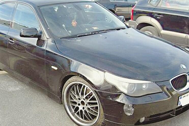 BMW espanhol apreendido pelas autoridades