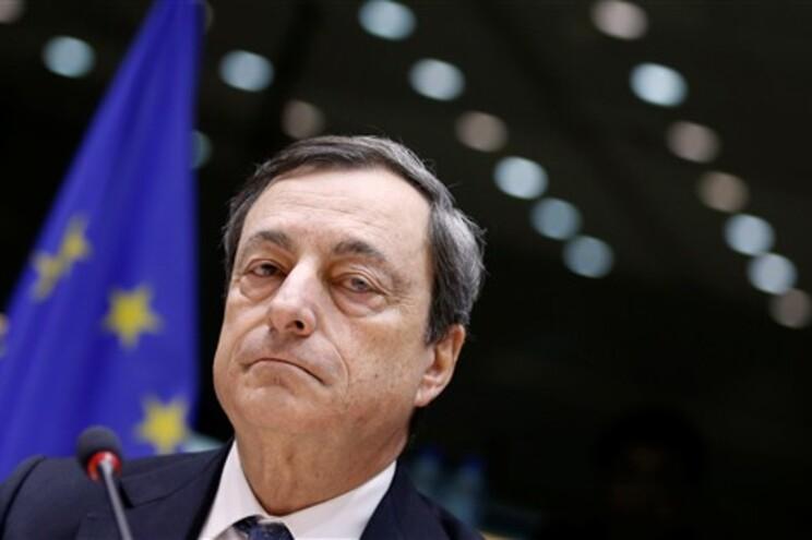 Líder do BCE respondia a perguntas formuladas pelo eurodeputado do CDS-PP Diogo Feio