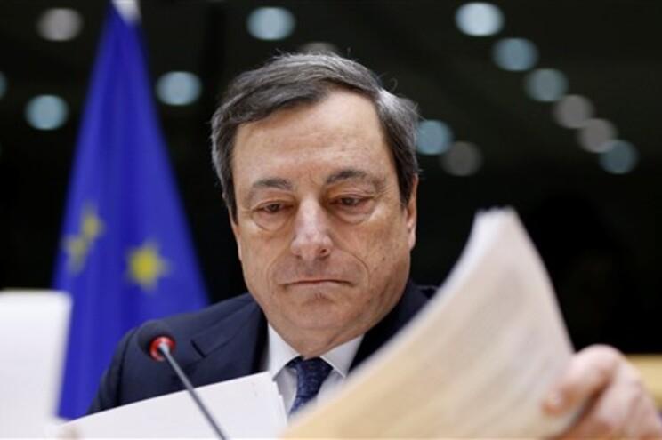 Mario Draghi disse segunda-feira que Portugal irá ter um programa para o período de transição