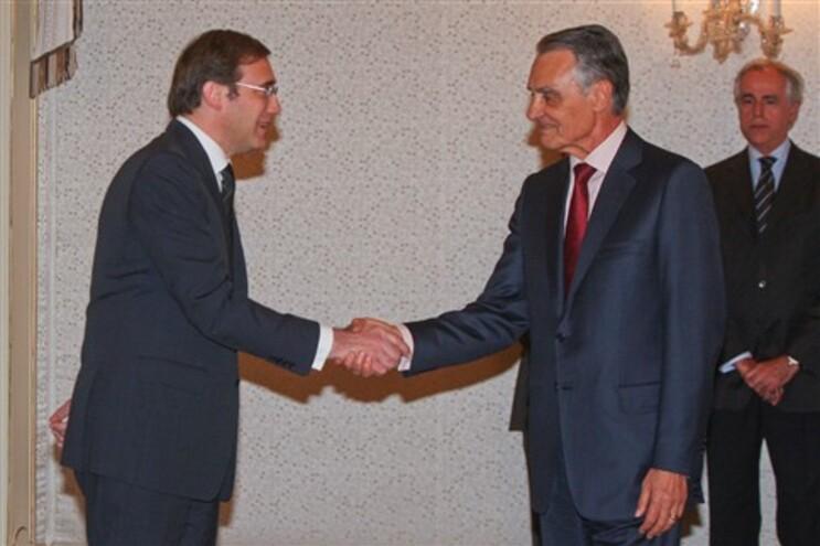 Governo deu esta tarde as Boas Festas ao Presidente da República