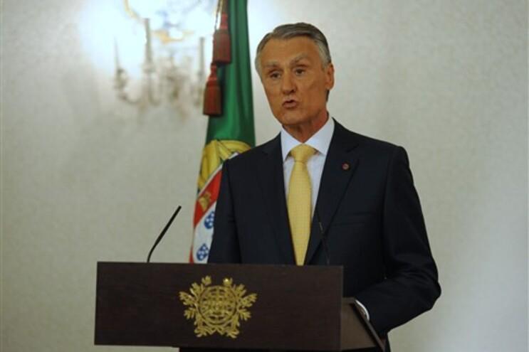 Cavaco Silva não referiu Orçamento de Estado
