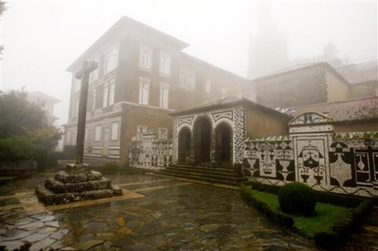 Convento do Buçaco foi palco de um incêndio no dia de Natal