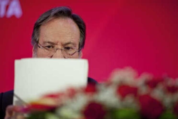 Líder parlamentar socialista, Alberto Martins