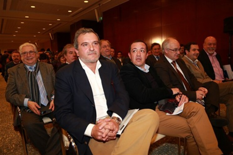 Miguel Relvas na reunião do novo Conselho Nacional do PSD