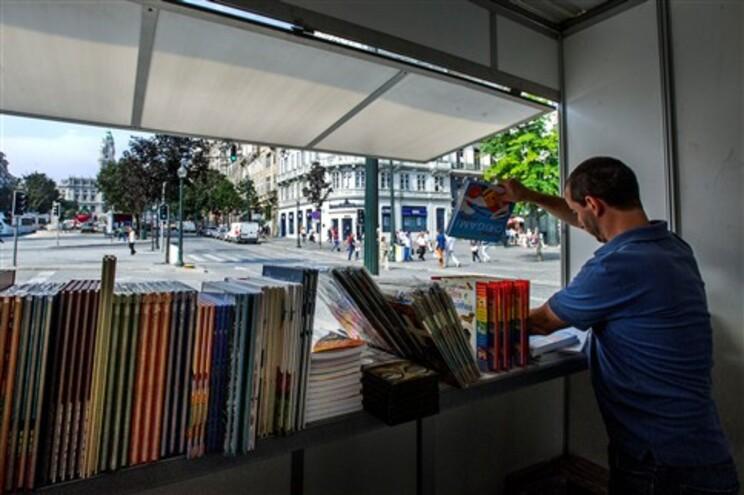 """A """"Letras na Avenida"""" substituiu, em 2013, a Feira do Livro"""