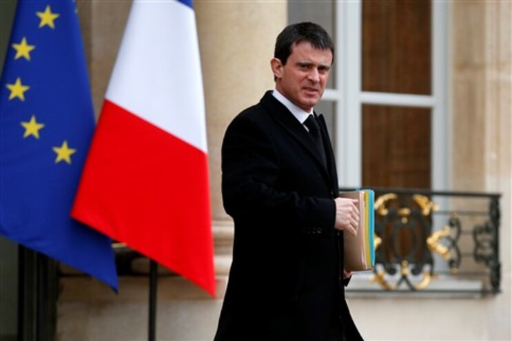 Novo primeiro-ministro francês, Manuel Valls