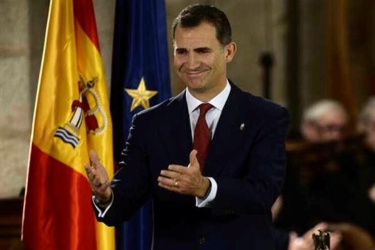 O futuro rei de Espanha, Felipe VI
