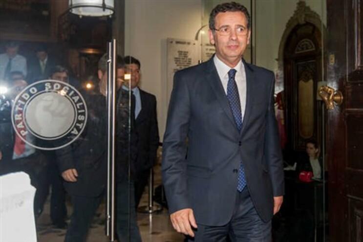 António José Seguro após reunião na sede do PS