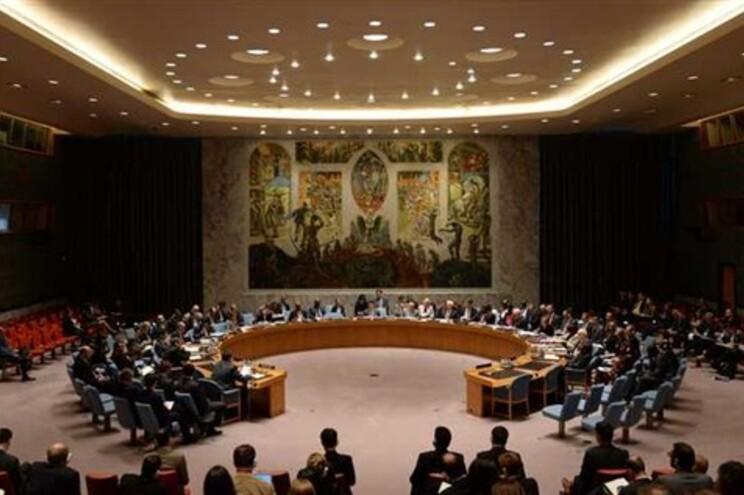 Sala de reuniões do Conselho de Segurança da ONU