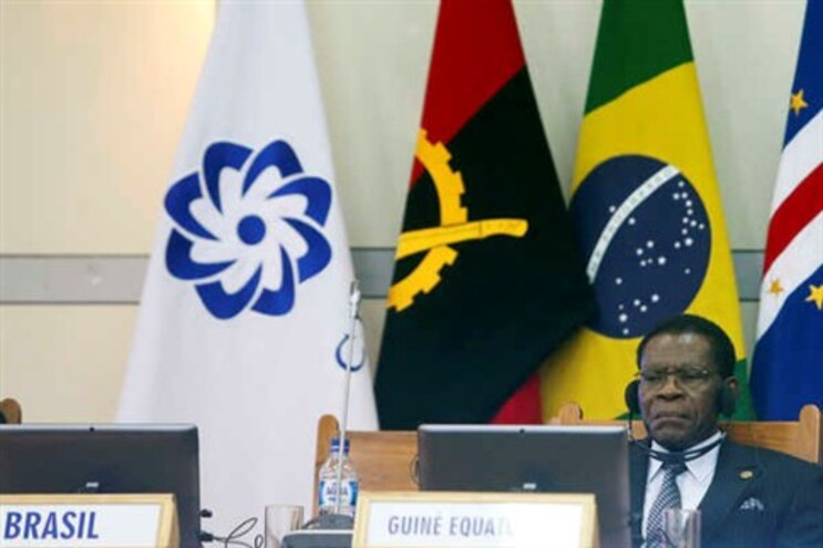 Presidente Teodoro Obiang na cimeira da CPLP em Díli