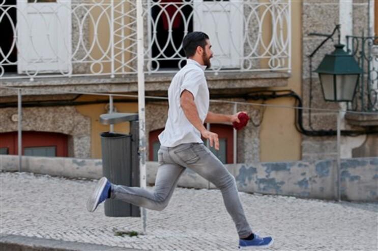 Tiago Freitas fugiu aos jornalistas