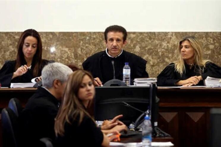 Leitura do acórdão no Tribunal de Aveiro