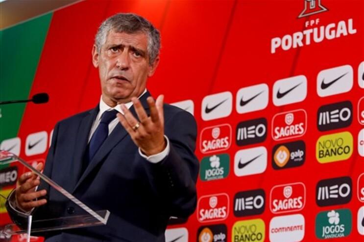 Apresentação do novo seleccionador nacional de futebol