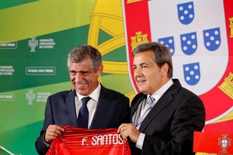 Fernando Santos foi apresentado como novo selecionador
