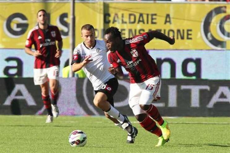 Michael Essien, do AC Milan
