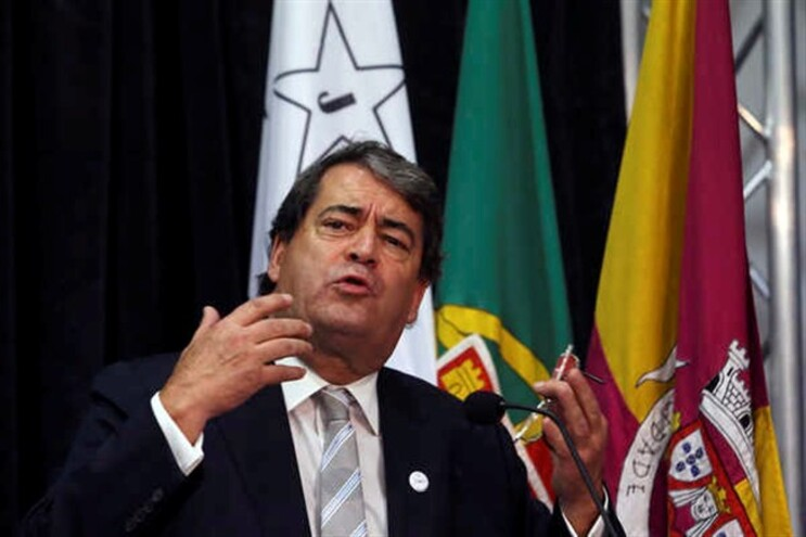 António Marinho e Pinto na apresentação do Partido Democrático Republicano
