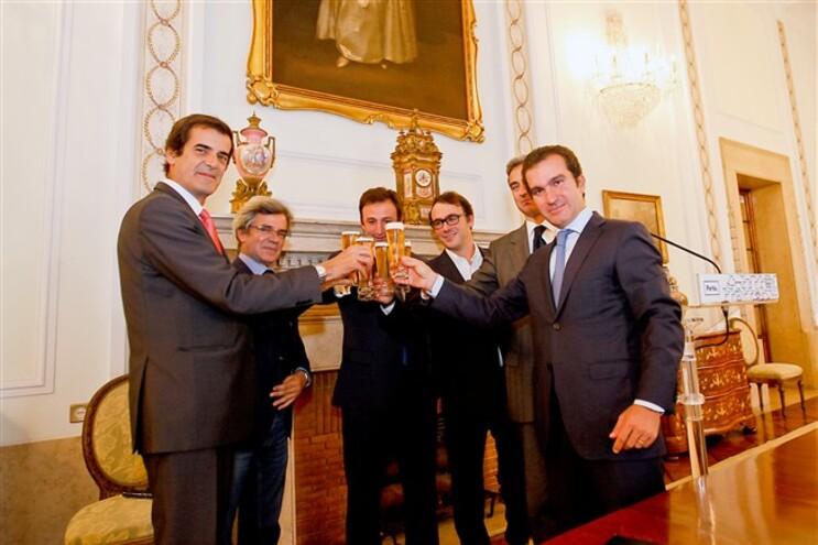 Na sessão foi assinado um protocolo entre a autarquia e a Unicer